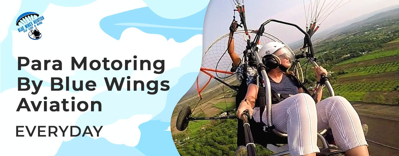 Paramotoring By Blue Wings Aviation