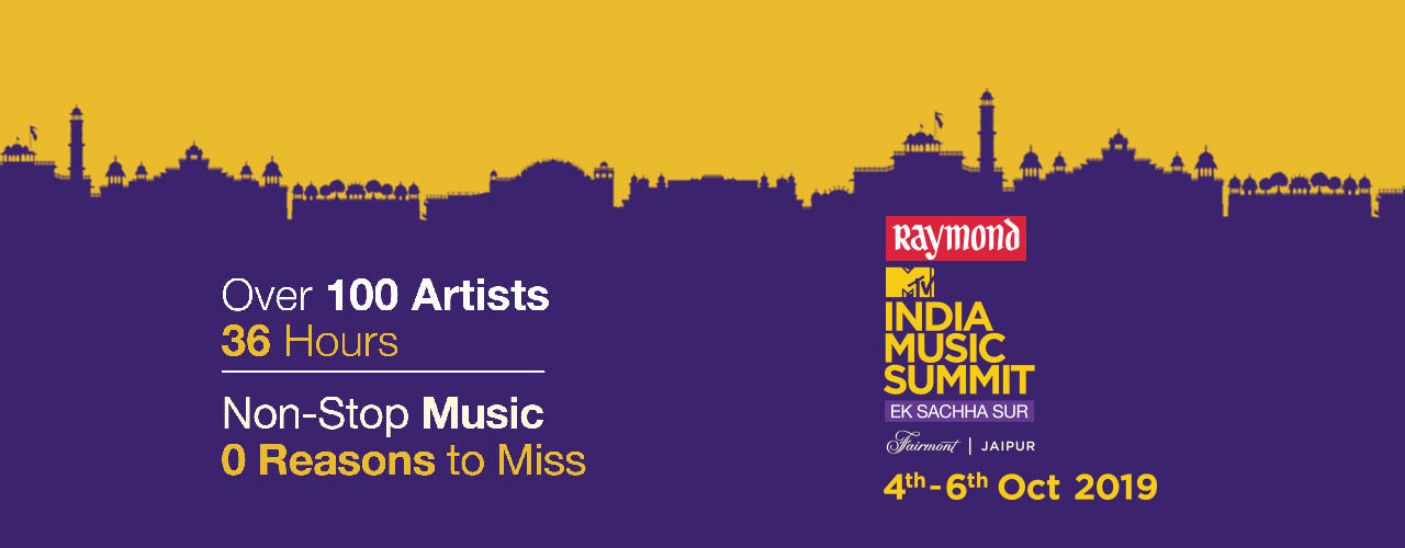 Raymond MTV India Music Summit 2019