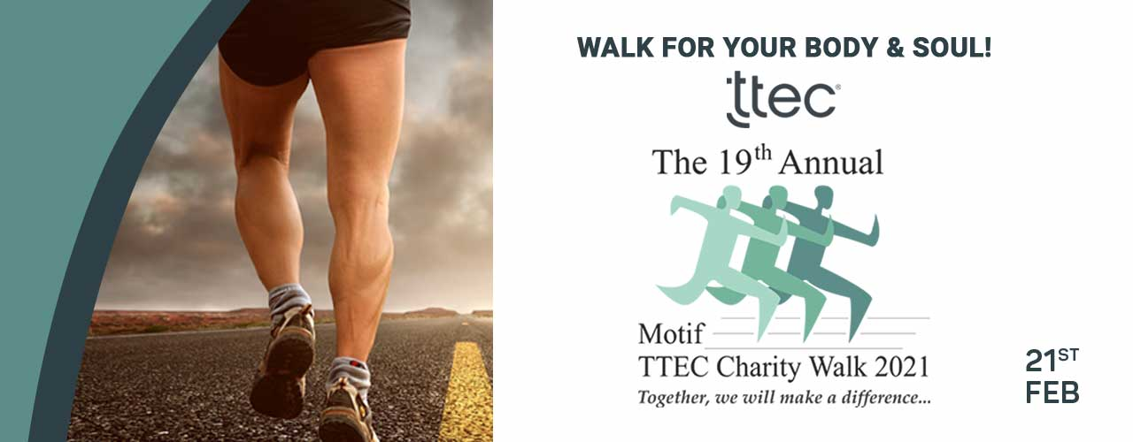The 19th Annual Motif-TTEC Charity Walk - 2021