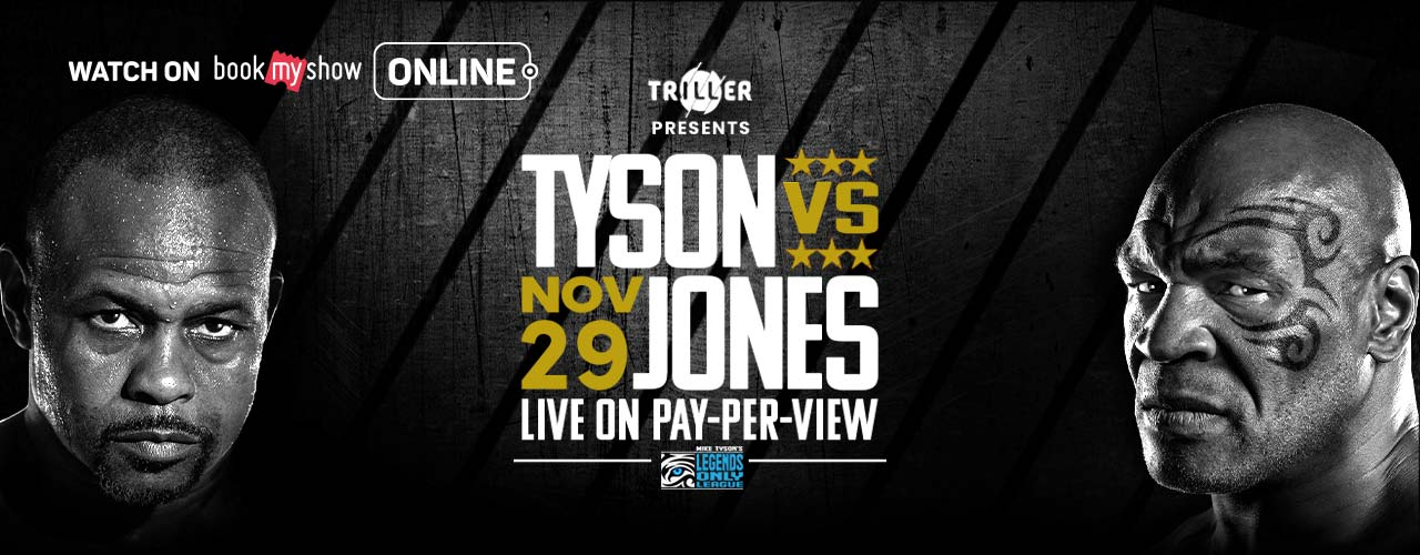 Triller Presents: Mike Tyson vs Roy Jones Jr.