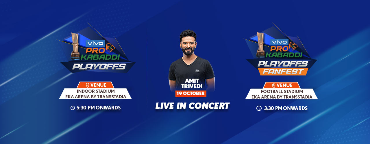 VIVO Pro Kabaddi - Semi-Final 1 & 2