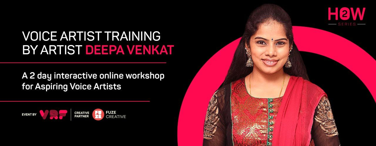 Voice Artist Training by Artist Deepa Venkat