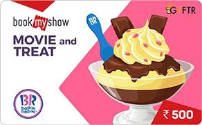 BMS and Baskin Robbins Combo Value Rs