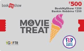 BMS and Baskin Robbins Combo Value Rs 500.00