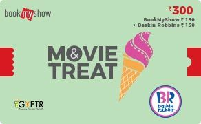 BMS and Baskin Robbins Combo Value Rs 300