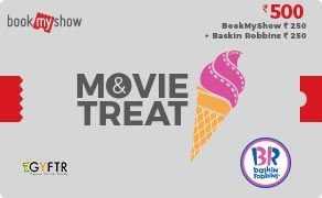 BMS and Baskin Robbins Combo Value Rs 500