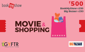 BMS and Big Bazaar Combo Value Rs 500