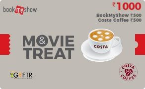 BMS and Costa Coffee Combo Value Rs 1000.00