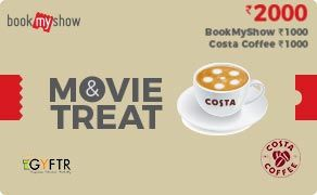 BMS and Costa Coffee Combo Value Rs 2000.00