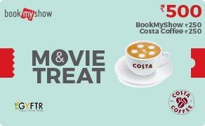BMS and Costa Coffee Combo Value Rs 500.00