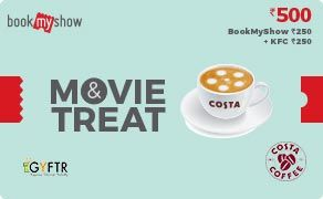BMS and Costa Coffee Combo Value Rs 500