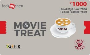 BMS and Costa Coffee Combo Value Rs 1000