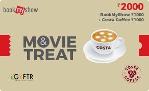 BMS and Costa Coffee Combo Value Rs 2000