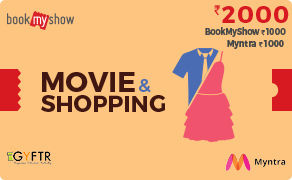 BMS and Myntra Combo Value Rs 2000
