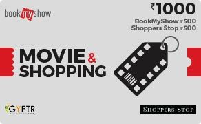 BMS and Shoppers Stop Combo Value Rs 1000.00