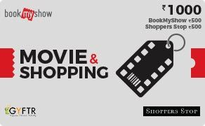 BMS and Shoppers Stop Combo Value Rs 1000