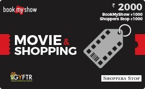 BMS and Shoppers Stop Combo Value Rs 2000