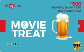 BMS and The Beer Cafe Combo Value Rs 500.00