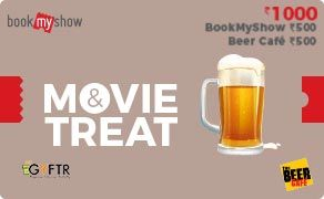 BMS and The Beer Cafe Combo Value Rs 1000.00