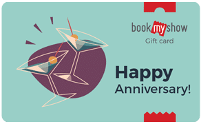 BookMyShow Congrats Happy Anniversary