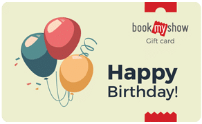 BookMyShow Congrats Happy Birthday