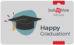 BookMyShow Congrats Happy Graduation
