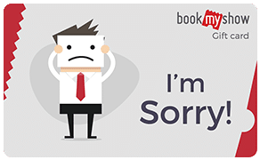 BookMyShow Congrats Sorry