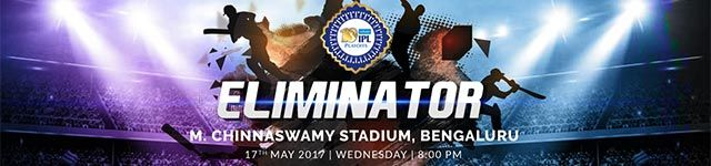 T20 Premier League Playoffs 2017 - Eliminator - BookMyShow