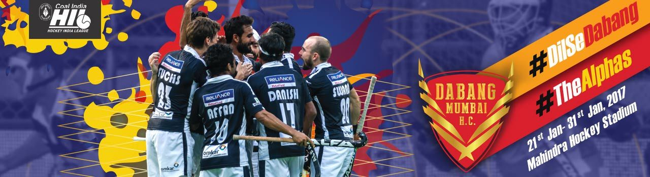 Hockey Indian LeagueDabang Mumbai H.C.-2017 Tickets