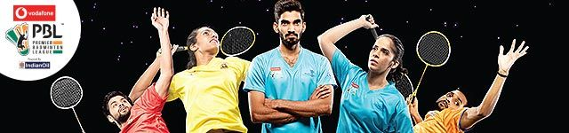 Premier Badminton LeaguePremier Badminton League Tickets