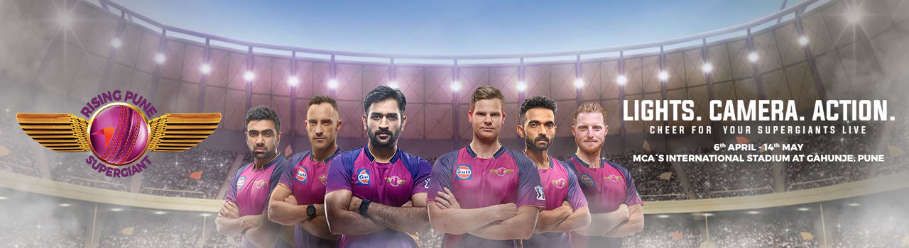 VIVO IPL 10 Rising Pune Supergiant - BookMyShow