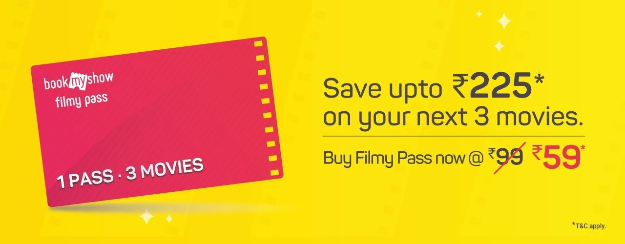 Filmy Pass - Movie Ticket Discount Offer Cards by BookMyShow